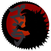 Godzilla Decal / Sticker 02