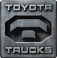 Toyota Trucks Decal / Sticker 07