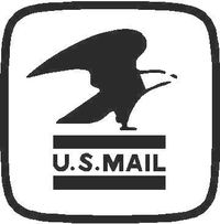 U.S. Mail Decal / Sticker