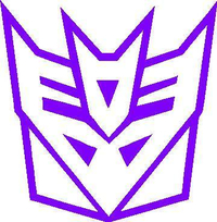 Decepticon Transformers Decal / Sticker 04