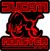 Ducati Monster Decal / Sticker 43