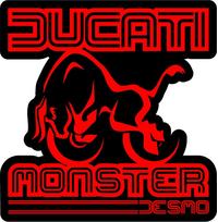 Ducati Monster Decal / Sticker 43