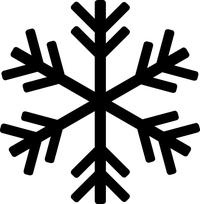 Snowflake Decal / Sticker 10