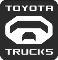 Toyota Trucks Decal / Sticker 03