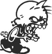 Devil Boy Decal / Sticker 02