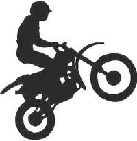 Dirtbike Decal / Sticker 04