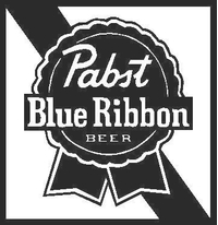 Pabst Blue Ribbon - PBR - Decal / Sticker