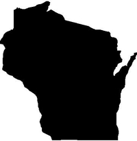Wisconsin Decal / Sticker 01
