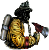 Firefighter Decal / Sticker 01