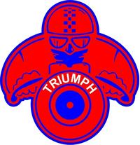 Triumph Decal / Sticker 28