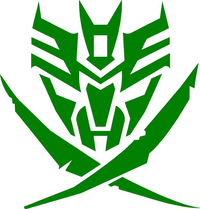 Star Seekers Decepticon Decal / Sticker
