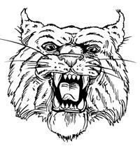 Wildcats Mascot Decal / Sticker 1
