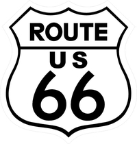 Route 66 Sign Decal / Sticker a