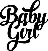 Baby Girl Decal / Sticker 01