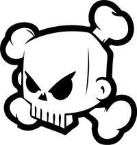 Ken Block Skull Decal / Sticker 01