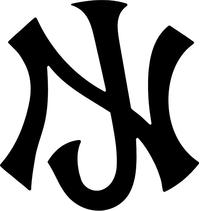 New Jersey Decal / Sticker 05