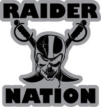 Raider Nation Decal / Sticker 03