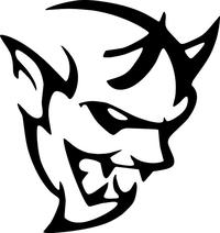 Demon Decal / Sticker 02