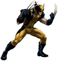 X-men Wolverine Decal / Sticker 09