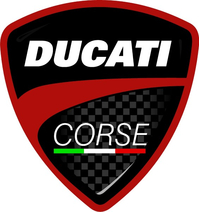 Ducati Corse Decal / Sticker 22