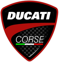 Ducati Corse Decal / Sticker 24