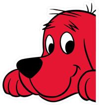 Clifford Big Red Dog Decal / Sticker 05