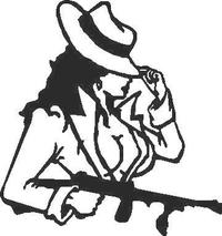 Bugsie's Woman Decal / Sticker