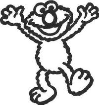 Elmo Decal / Sticker