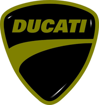 Ducati Shield Decal / Sticker 44