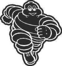 Michelin Man Decal / Sticker