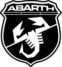 Fiat Abarth Scorpion Decal / Sticker 40