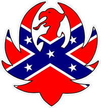 Confederate Flag Hank Williams Jr. Decal / Sticker 07