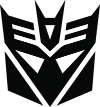 Decepticon Decal / Sticker 42