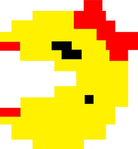 Ms. Pac-Man Decal / Sticker 17