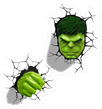 Hulk Cracks Decal / Sticker 08