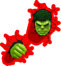 Hulk Cracks Decal / Sticker 15
