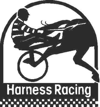 Harness Racing Decal / Sticker 02