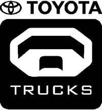 Toyota Trucks Decal / Sticker 02