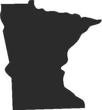 Minnesota Decal / Sticker 01