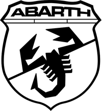 Fiat Abarth Scorpion Decal / Sticker 39