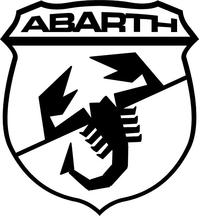 Fiat Abarth Scorpion Decal / Sticker 43