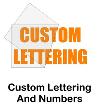 Custom Die-Cut Decal / Sticker Quote (Single Color High Volume) Custom Lettering