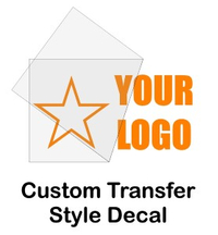 Custom Transfer Decal / Sticker Quote (Single Color High Volume)