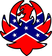 Confederate Flag Hank Williams Jr. Decal / Sticker 09