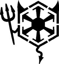 Star Wars Sith Devil Decal / Sticker