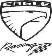 Eagle Racing Decal / Sticker