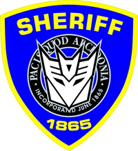 Decepticon Sheriff Decal / Sticker 35