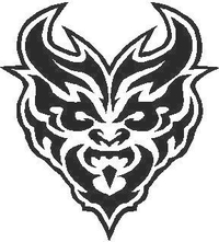 Demon Decal / Sticker 01