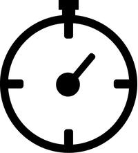Stopwatch Decal / Sticker 01