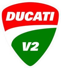 Ducati V2 Decal / Sticker 81